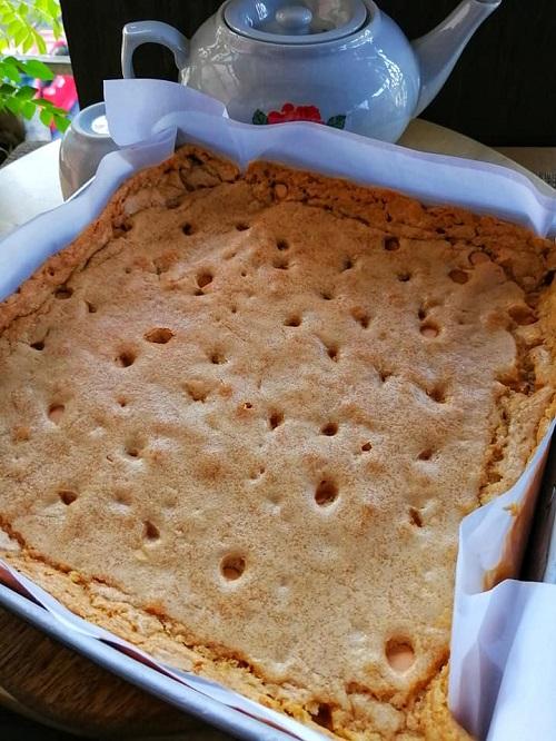Resepi Caramel Butterscotch Brownies
