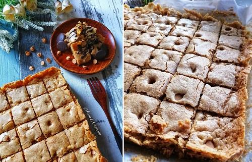resepi-caramel-butterscotch-brownies