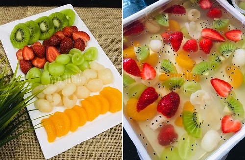 resepi-agar-agar-cermin-mixed-fruits