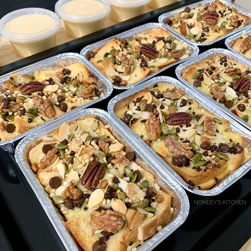 resepi-bread-butter-pudding-versi-bakar
