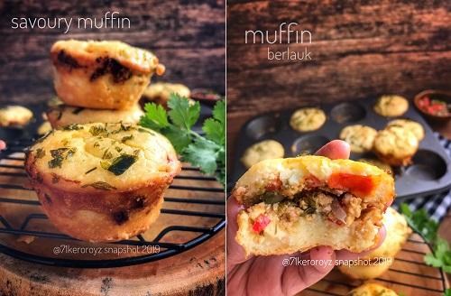 resepi-muffin-berlauk-atau-savoury-muffin