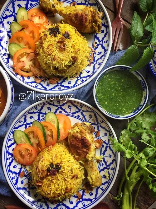 Resepi Nasi Biryani Thai (Khao Mok Gai)