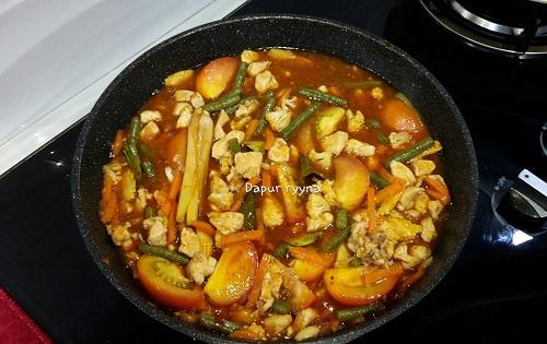 resepi-paprik-ayam-thai-terangkat