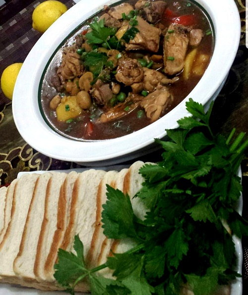 Resepi Stew Ayam Cara Tengku Puan Pahang
