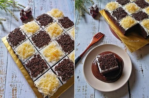 resepi-brownies-potong-kukus