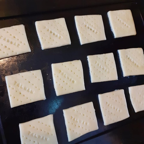 Resepi Cream Crackers Homemade