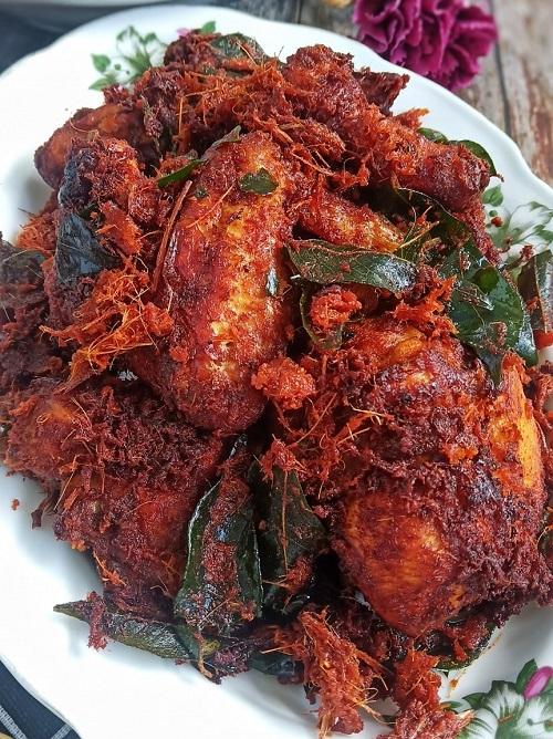 Resepi Nasi Lemak Tumis Dengan Ayam Berempah