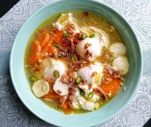 resepi-sup-telur-paling-mudah