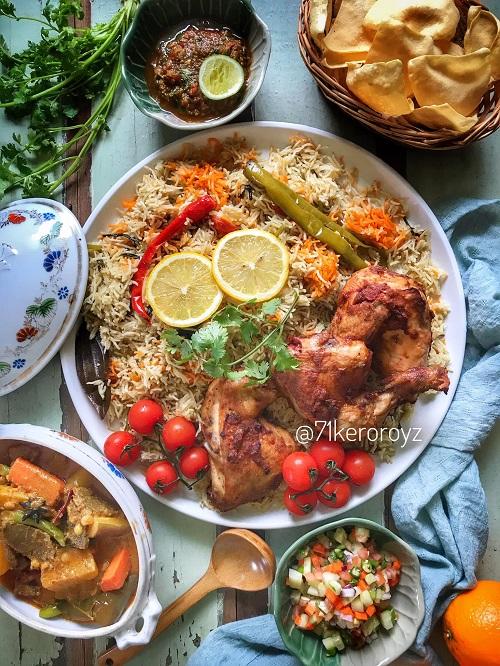 Resepi Homemade Nasi Arab Ayam Panggang