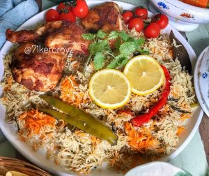 resepi-homemade-nasi-arab-ayam-panggang