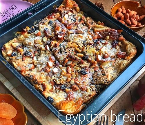 resepi-umali-egyptian-bread-pudding
