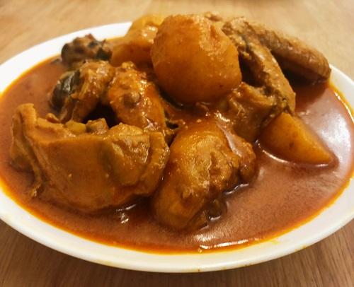 Resepi Kari Ayam ala Sugu Pavrita