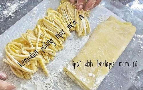 Mee Kuning Homemade Hanya Guna 4 Bahan