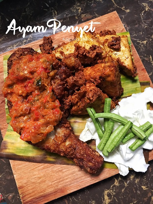 Resepi Ayam Penyet Dengan Sambal Sedap