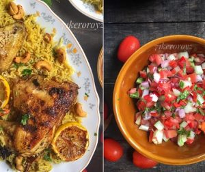 resepi-nasi-mediterranean-bersama-tomato-salsa
