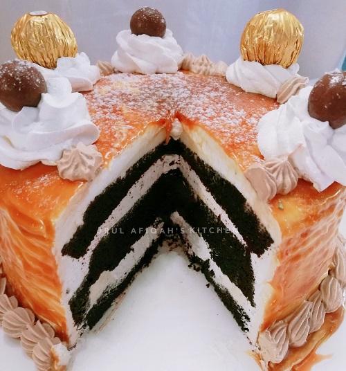 resepi-kek-coklat-salted-caramel