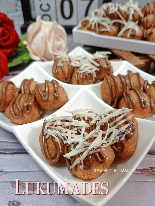 Resepi Viral Indonesia Lukumades atau Donut Yunani
