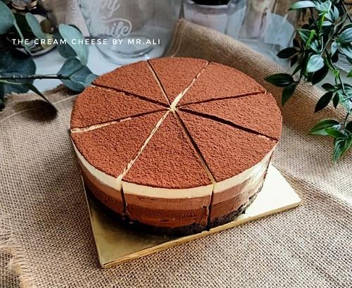 resepi-kek-triple-chocolate-mousse