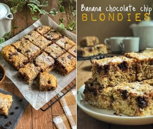 resepi-banana-chocolate-chip-blondies