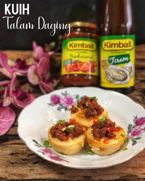 Resepi Kuih Talam Berlauk Daging
