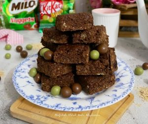 resepi-nestum-choc-peanut-butter-bars