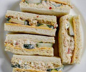 resepi-sarapan-spicy-tuna-sandwich
