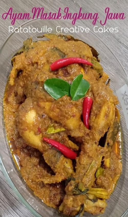 Resepi Ayam Masak Ingkung Jawa
