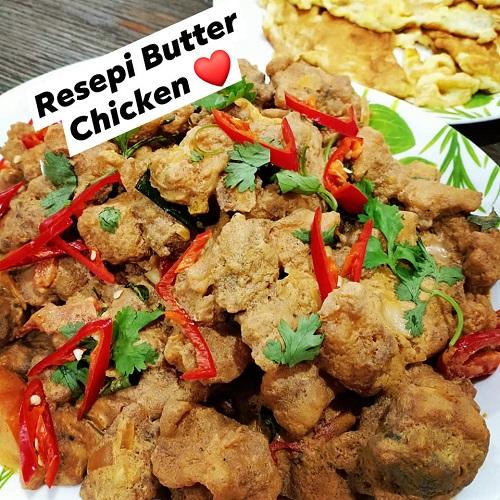 resepi-butter-chicken-confirm-sedap