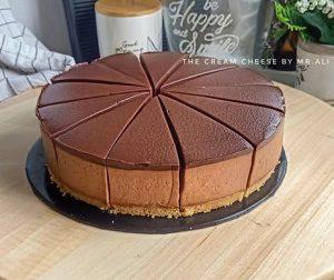 resepi-nutella-cheesecake-tanpa-bakar