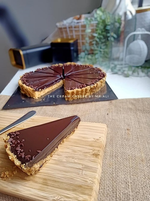 Resepi Pai Coklat Mudah Tanpa Bakar
