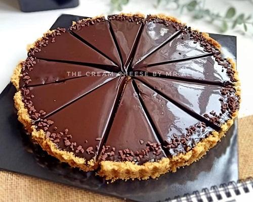 resepi-pai-coklat-mudah-tanpa-bakar