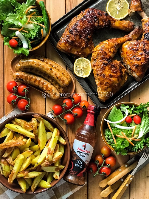 Resepi Peri Peri Chicken Ala Nandos