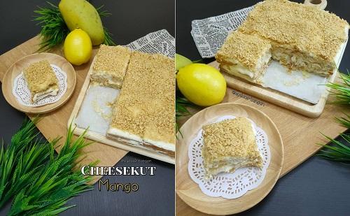 cara-buat-resepi-cheesekut-mango