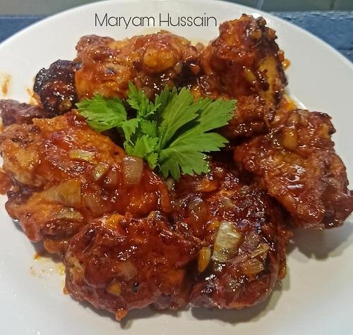 resepi-ayam-masak-oren-chinese-style