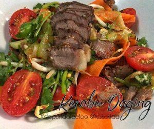 resepi-kerabu-daging-ala-thai
