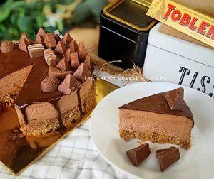 resepi-no-bake-toblerone-cheesecake-kurang-manis