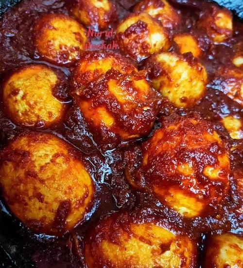 resepi-sambal-telur-ikan-bilis-dan-bebola-ikan