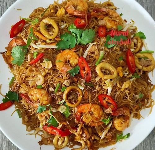 resepi-bihun-goreng-kicap-seafood