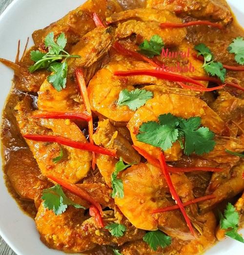 resepi-udang-kari-panang-thai