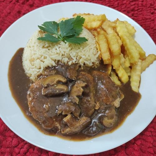 nasi-butter-ala-kfc-dengan-chicken-chop